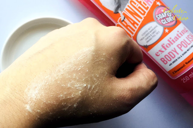 Step by step to exfoliate your body