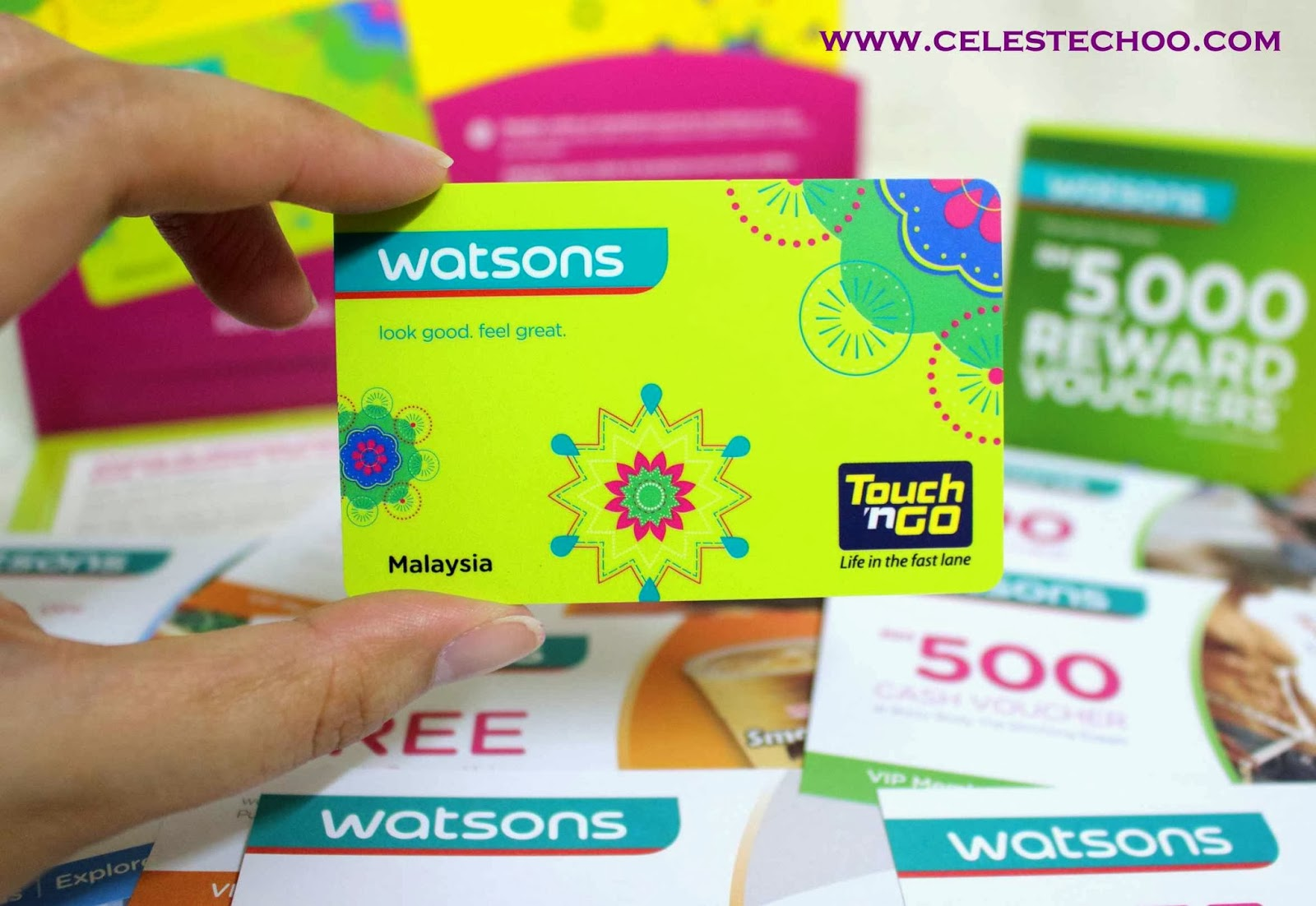 Watsons Vip Card Has Evolved To A Touch N Go Card Celeste Choo
