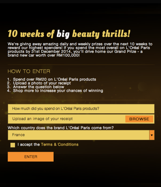 how-to-join-loreal-paris-beauty-countdown
