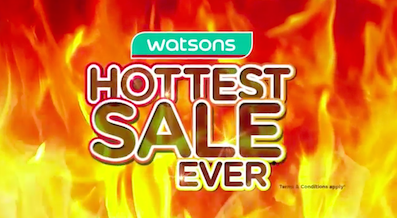 Watsons Hottest Sale Ever Video