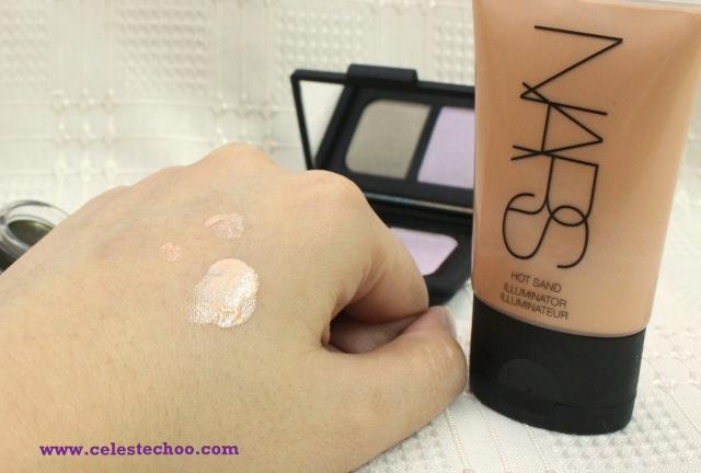 nars_hot_sand_peach_champagne_illuminator_makeup_summer_collection_2014