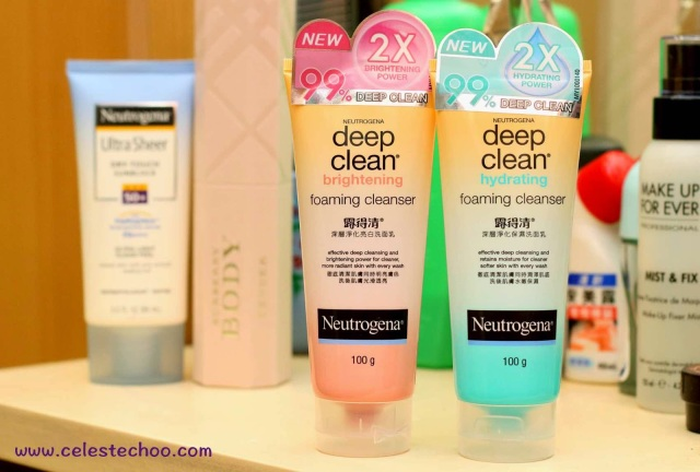new-neutrogena-cleansers-brightening-hydrating-cleansing-foam-review