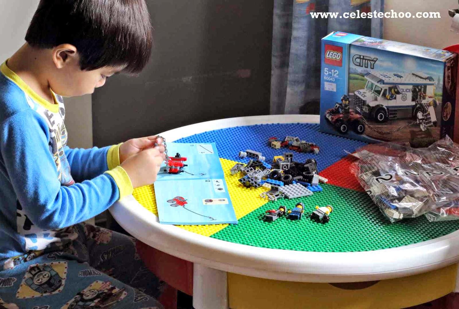 Lego City Police Truck For 5 12 Years Old Celeste Choo
