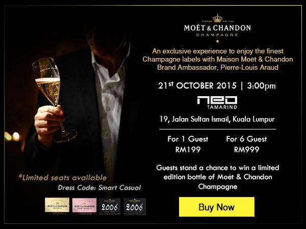 Moet & Chandon Champagne Tasting