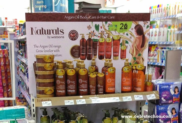 naturals-by-watsons-argan-oil-shampoo-and-conditioner-shelf-display