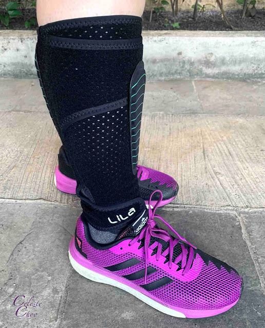 how-to-wear-exoskeleton-compression-calf-sleeves-on-legs-for-running