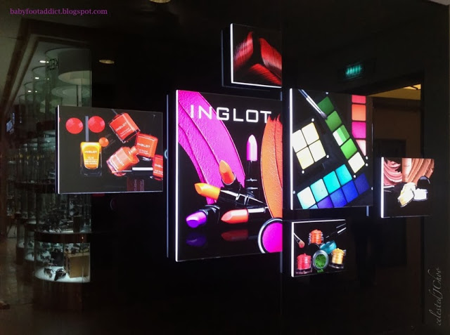 inglot malaysia cosmetics makeup nail color beauty