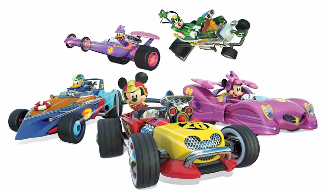 disney junior mickey mouse and the roadster racers