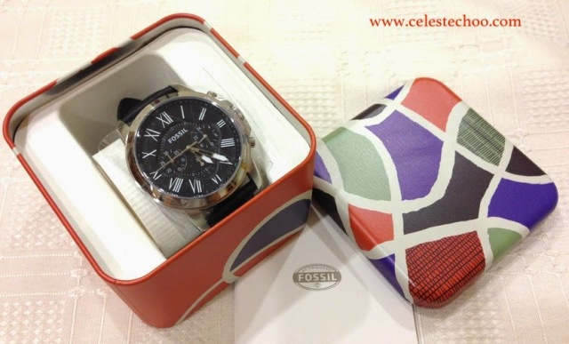 christmas-gift-ideas-fossil-leather-watch