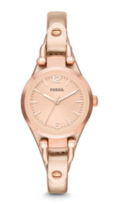 fossil-metallic-leather-watch-price
